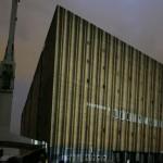 Projektion in derHafenCity Hamburg